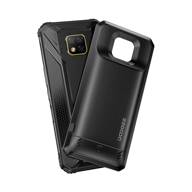 DOOGEE IP68 S95 Pro Helio P90 Octa Core 8GB 128GB 48MP Cam Android 9.0 Modular Rugged Mobile Phone 6.3inch FHD Display 5150mAh