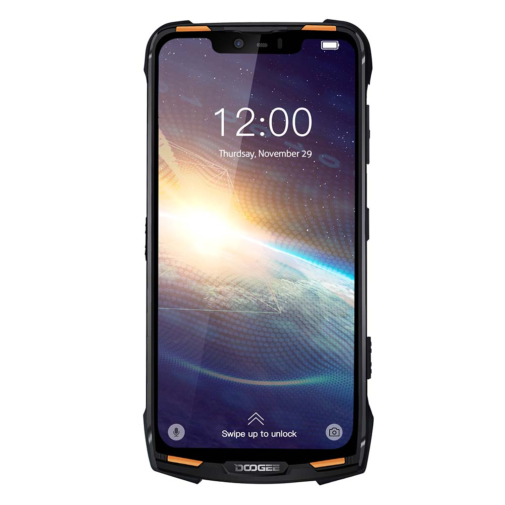 DOOGEE S90 Pro IP68 Modular Rugged Mobile Phone Helio P70 Octa Core 6GB 128GB 6.18inch Display 12V2A 5050mAh 16MP+8MP Android 9
