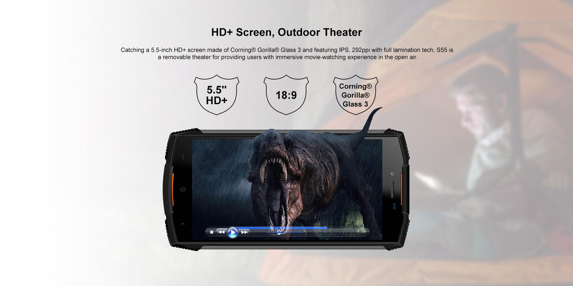 Doogee S55 smartphone