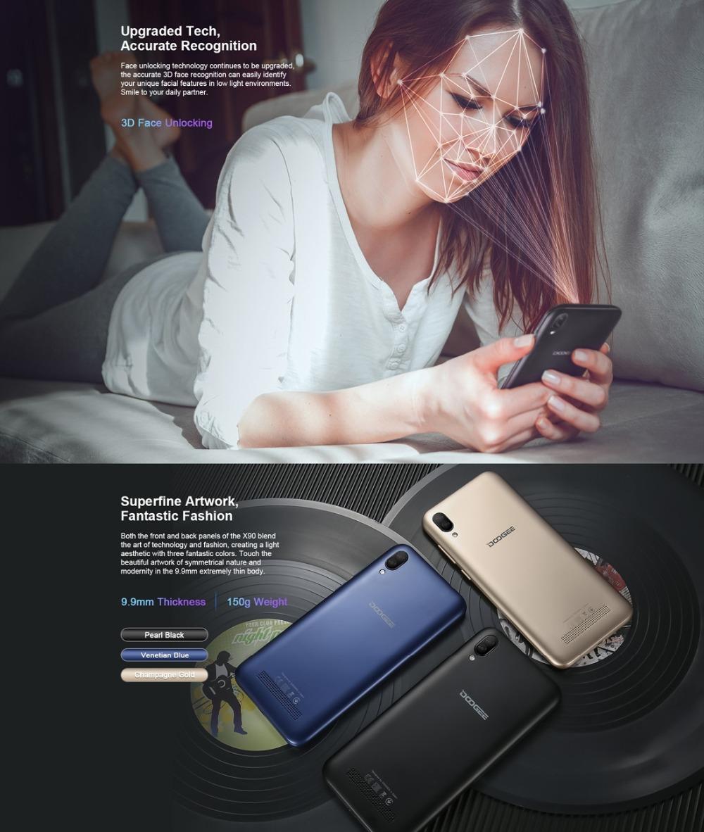 Doogee X90 mobile phone