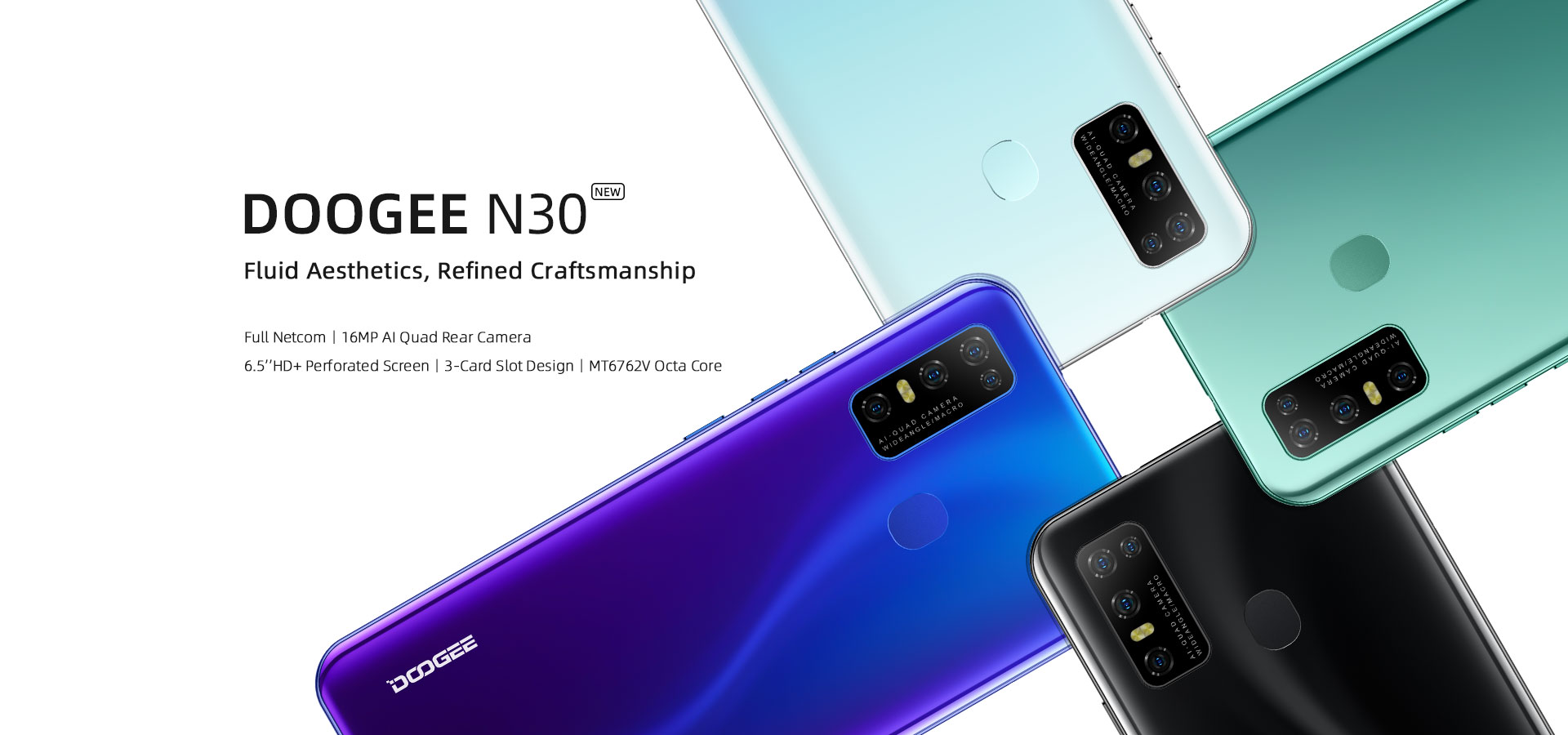 Doogee N30 Budget smartphone