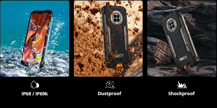 Doogee S96 pro vs Doogee S95 pro