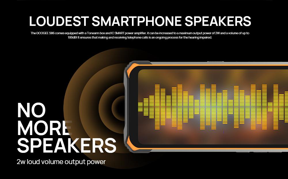 Doogee S86 rugged smartphone 8500mAh big battery
