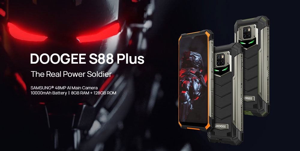 Doogee S88 plus rugged phone review